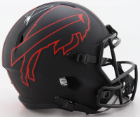 Stefon Diggs Signed Bills Full-Size Eclipse Alternate Speed Helmet (Beckett COA) (See Description) at PristineAuction.com
