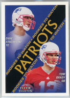 David Stachelski / Tom Brady 2000 Fleer Tradition #352 RC at PristineAuction.com