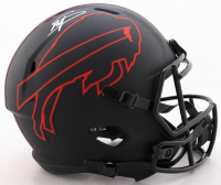 Stefon Diggs Signed Bills Full-Size Eclipse Alternate Speed Helmet (Beckett COA) at PristineAuction.com