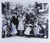 """Karl Slover, Jerry Maren & Mickey Carroll Signed """"The Wizard of Oz"""" 16x18 Photo With Multiple Inscriptions (JSA COA) at PristineAuction.com"""