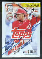 2021 Topps Series 1 Baseball Blaster Box with (99) Cards at PristineAuction.com