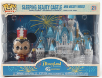 Mickey Mouse - Disneyland: 65th Anniversary - Sleeping Beauty Castle & Mickey Mouse #21 Funko Pop! Vinyl Figure at PristineAuction.com