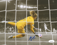 Alyssa Naeher Signed Team USA 8x10 Photo (JSA COA) at PristineAuction.com