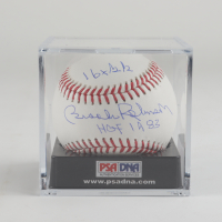 Brooks Robinson Signed OML Baseball With Display Case With Multiple Inscriptions (PSA COA - Graded 10) at PristineAuction.com