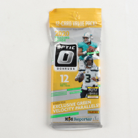 2020 Panini Donruss Optic NFL Football Cello Pack with (12) Cards at PristineAuction.com