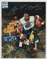 "Walter Payton Signed LE Bears 8x10 Photo Inscribed ""16,726"" (PSA LOA) at PristineAuction.com"