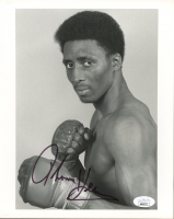 "Tommy ""Hitman"" Hearns Signed 8x10 Photo (JSA COA) at PristineAuction.com"
