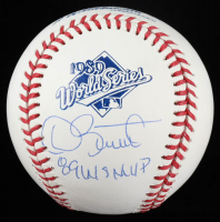 "Dave Stewart Signed 1989 World Series Baseball Inscribed ""89 WS MVP"" (JSA COA) at PristineAuction.com"