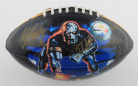 2003-04 Steelers Logo Football Team-Signed by (10) with Ike Taylor, Willie Parker, Chad Scott, Chris Hoke, Jeff Reed, Barrett Brooks (JSA ALOA) at PristineAuction.com