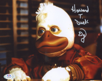 "Ed Gale Signed ""Howard The Duck"" 8x10 Photo Inscribed ""Howard T. Duck"" (PSA COA) at PristineAuction.com"