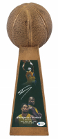 "Shaquille O'Neal Signed 14"" Championship Basketball Trophy (Beckett COA) at PristineAuction.com"