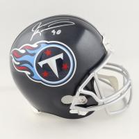 Jevon Kearse Signed Titans Full-Size Speed Helmet (JSA COA) (See Description) at PristineAuction.com