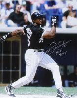 "Frank Thomas Signed White Sox 16x20 Photo Inscribed ""HOF 2014"" (Beckett COA) at PristineAuction.com"