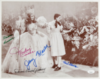 """The Wizard of Oz"" 11x14 Photo Signed by (5) with Clarence Swensen, Karl Slover, Mickey Carroll, Donna Stewart-Hardway, Jerry Maren (JSA COA) at PristineAuction.com"