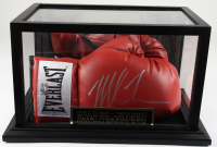 Mike Tyson Signed Everlast Boxing Glove with Display Case (Fiterman Hologram) at PristineAuction.com