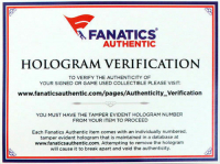 "Chipper Jones Signed Rawlings Pro Baseball Bat Inscribed ""HOF 18"" (Fanatics Hologram) at PristineAuction.com"