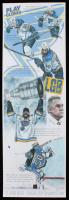 "Ed West Signed LE ""Blues"" 11.5x36 Lithograph (JSA COA) at PristineAuction.com"