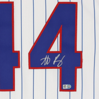 Anthony Rizzo Signed Cubs Jersey (MLB Hologram) at PristineAuction.com
