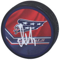 Alex Ovechkin Signed Capitals Logo Hockey Puck (Fanatics Hologram) at PristineAuction.com