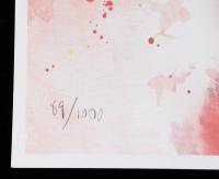 "Ed West Signed LE ""Chiefs"" 11.5x36 Lithograph (JSA COA) at PristineAuction.com"