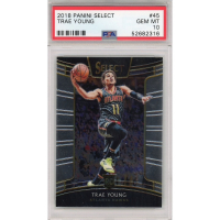 Trae Young 2018-19 Select #45 RC (PSA 10) at PristineAuction.com