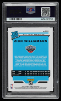 Zion Williamson 2019-20 Clearly Donruss #51 RR RC (PSA 10) at PristineAuction.com