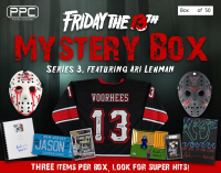 "Press Pass Collectibles 2021 ""Friday the 13th"" Ari Lehman Mystery Box – Series 3 at PristineAuction.com"