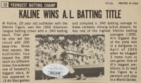 Al Kaline Signed 1964 Topps Giants #12 (JSA COA) at PristineAuction.com