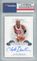 Clyde Drexler 2018-19 Panini Flawless Legendary Scripts #23 (Fanatics Encapsulated) at PristineAuction.com