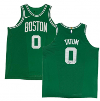 Jayson Tatum Signed Celtics Jersey (Fanatics Hologram) at PristineAuction.com