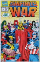 """1992 """"The Infinity War"""" Issue #1 Marvel Comic Book at PristineAuction.com"""