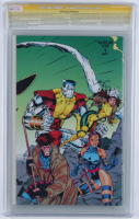 """Stan Lee & Chris Claremont Signed 1991 """"X-Men"""" Issue #1 Marvel Comic Book (CGC Encapsulated - 9.6) at PristineAuction.com"""