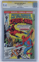 "Stan Lee Signed 1976 ""Spectacular Spider-Man"" Issue #1 Marvel Comic Book (CGC Encapsulated - 9.4) at PristineAuction.com"