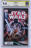 "Stan Lee Signed 2015 ""Star Wars"" Issue #1 Variant Marvel Comic Book (CGC Encapsulated - 9.4) at PristineAuction.com"