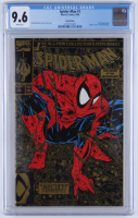 "1990 ""Spider-Man"" Issue #1 Marvel Gold Edition Comic Book (CGC Encapsulated - 9.6) at PristineAuction.com"