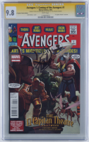 "Stan Lee & John Romita Jr. Signed 2012 ""Avengers 1: Coming of the Avengers"" Issue #1 Marvel Comic Book (CGC Encapsulated - 9.8) at PristineAuction.com"