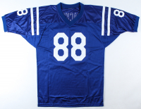 John Mackey Signed Jersey with (3) Career Stat Inscriptions (JSA COA) (See Description) at PristineAuction.com
