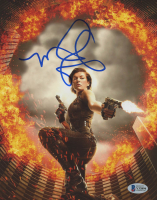 "Milla Jovovich Signed ""Resident Evil"" 8x10 Photo (Beckett Hologram) at PristineAuction.com"