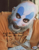 """Sid Haig Signed """"The Devil's Rejects"""" 8x10 Photo Inscribed """"What's the matter kid, don't you like clowns?"""" (Beckett Hologram) at PristineAuction.com"""