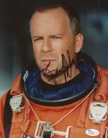 "Bruce Willis Signed ""Armageddon"" 8x10 Photo (JSA Hologram) at PristineAuction.com"
