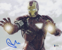 "Robert Downey Jr. Signed ""Iron Man "" 8x10 Photo (Beckett Hologram) at PristineAuction.com"