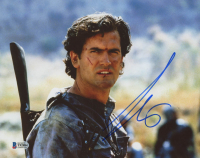 """Bruce Campbell Signed """"Army of Darkness"""" 8x10 Photo (Beckett Hologram) at PristineAuction.com"""