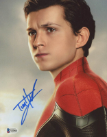 "Tom Holland Signed ""Spider-Man"" 8x10 Photo (Beckett Hologram) at PristineAuction.com"
