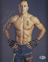 Georges St-Pierre Signed UFC 8x10 Photo (Beckett Hologram) at PristineAuction.com