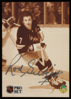 Rod Gilbert Signed 1991-92 Pro Set #593 (Beckett COA) at PristineAuction.com
