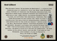 Rod Gilbert Signed 1991-92 Pro Set #593 (Beckett COA) at PristineAuction.com