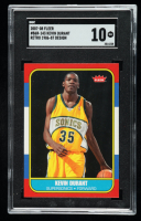 Kevin Durant 2007-08 Fleer 1986-87 Rookies #143 (SGC 10) at PristineAuction.com