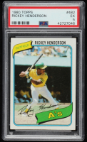 Rickey Henderson 1980 Topps #482 RC (PSA 5) at PristineAuction.com
