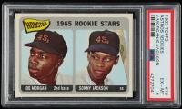 Joe Morgan / Sonny Jackson 1965 Topps #16 Rookie Stars RC (PSA 6) at PristineAuction.com