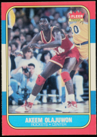 Hakeem Olajuwon 1986-87 Fleer #82 RC at PristineAuction.com